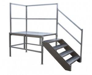 Portable Aluminum Stairs