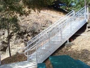 Aluminum Portable Stairs