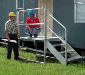Portable Metal Stairs