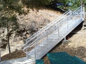 Aluminum Stairway