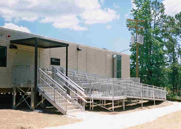 Portable Ramps with Handrails