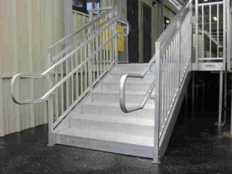 Dura-Grip General Code Aluminum Stairs