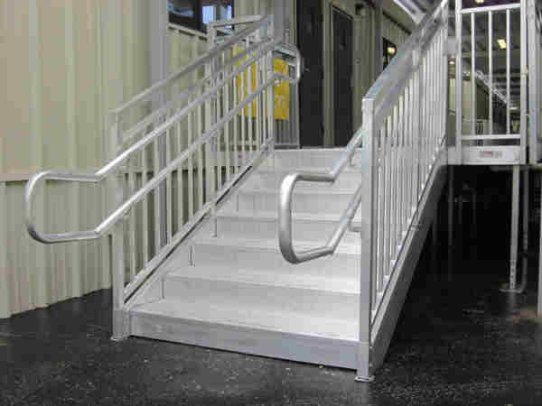 prefabricated outdoor stairs redd team